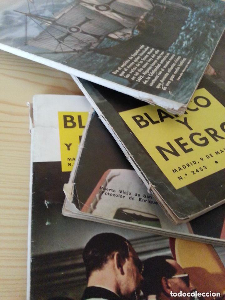 Coleccionismo de Revista Blanco y Negro: LOTE 5 REVISTAS BLANCO Y NEGRO (1958-1959-1964) - VER FOTOGRAFÍAS PARA PORTADAS - Foto 7 - 177576504