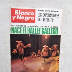 Coleccionismo de Revista Blanco y Negro: REVISTA BLANCO Y NEGRO Nº 2812 - 26 DE MARZO DE 1966 NACE EL BALLET GALLEGO . Lote 177607789