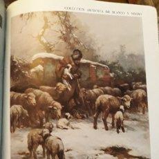 Coleccionismo de Revista Blanco y Negro: LAMINA COLECCION ARTISTICA DE BLANCO Y NEGRO -EN LA SIERRA POR SANTIAGO REGIDOR .. Lote 177652034