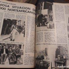 Coleccionismo de Revista Blanco y Negro: PENOSA SITUACION DE 30000 NORTEAFRICANOS EN BARCELONA - AÑO 1973 - SOLO 3 PAGINAS. Lote 178558467