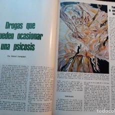 Coleccionismo de Revista Blanco y Negro: DROGAS QUE PUEDEN OCASIONAR UNA PSICOSIS - POR ROBERT CAMPBELL - ARTICULO DE 1973 11 PAGINAS. Lote 178572020