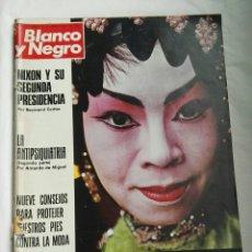 Coleccionismo de Revista Blanco y Negro: BLANCO Y NEGRO N 3158 R5 PRUEBA ANTIPSIQUIATRIA HONG-KONG 1972. Lote 179118562