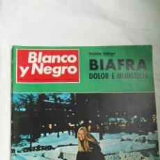 Coleccionismo de Revista Blanco y Negro: BLANCO Y NEGRO N 3012 SUECIA BIAFRA 1970. Lote 179118795