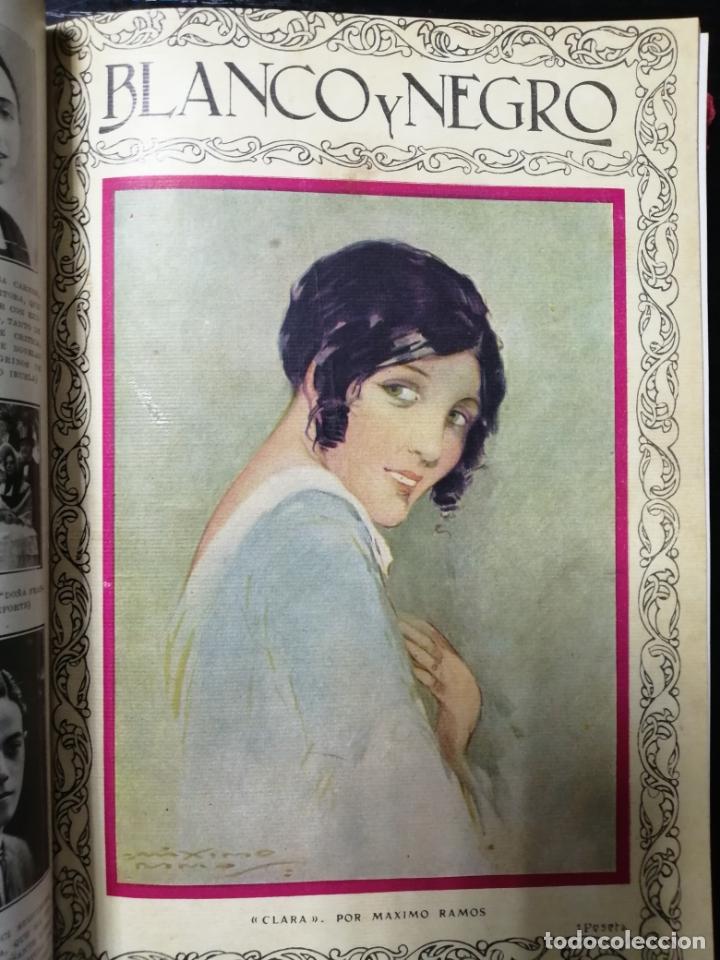 Coleccionismo de Revista Blanco y Negro: RECOPILACION DE REVISTAS BLANCO Y NEGRO EN UN SOLO TOMO, DESDE 6/05 1928 HASTA 24/06 1928. LEER - Foto 7 - 179392386