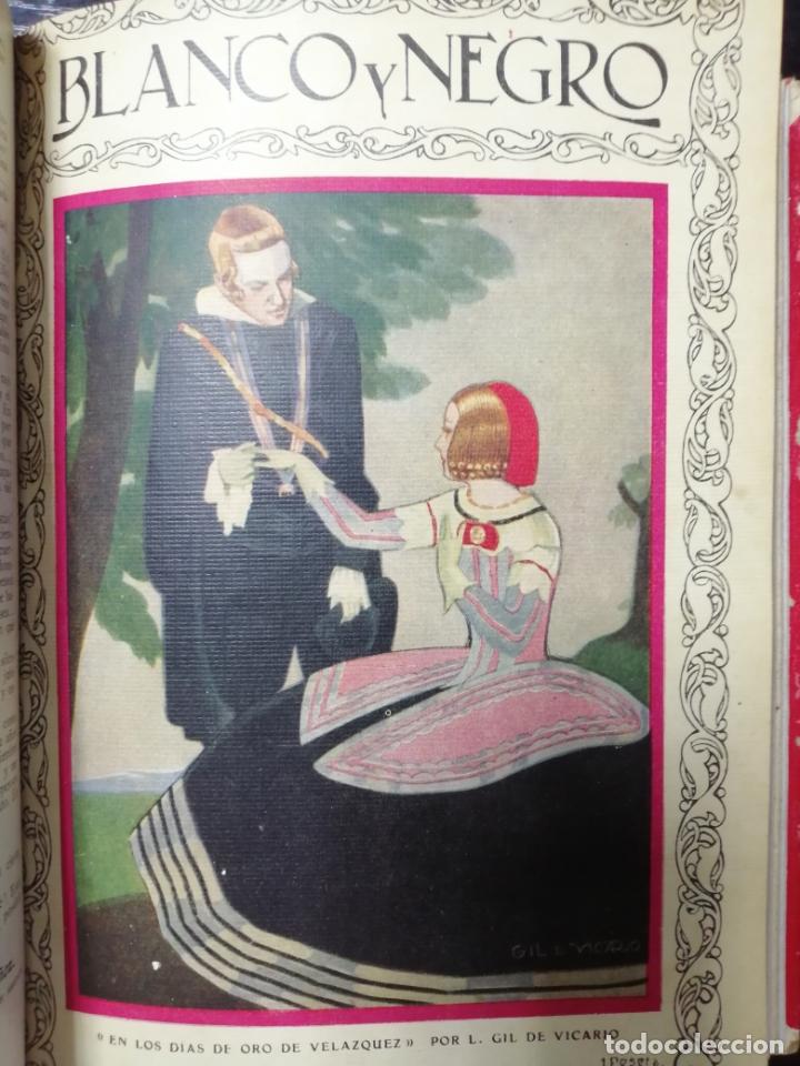 Coleccionismo de Revista Blanco y Negro: RECOPILACION DE REVISTAS BLANCO Y NEGRO EN UN SOLO TOMO, DESDE 6/05 1928 HASTA 24/06 1928. LEER - Foto 8 - 179392386