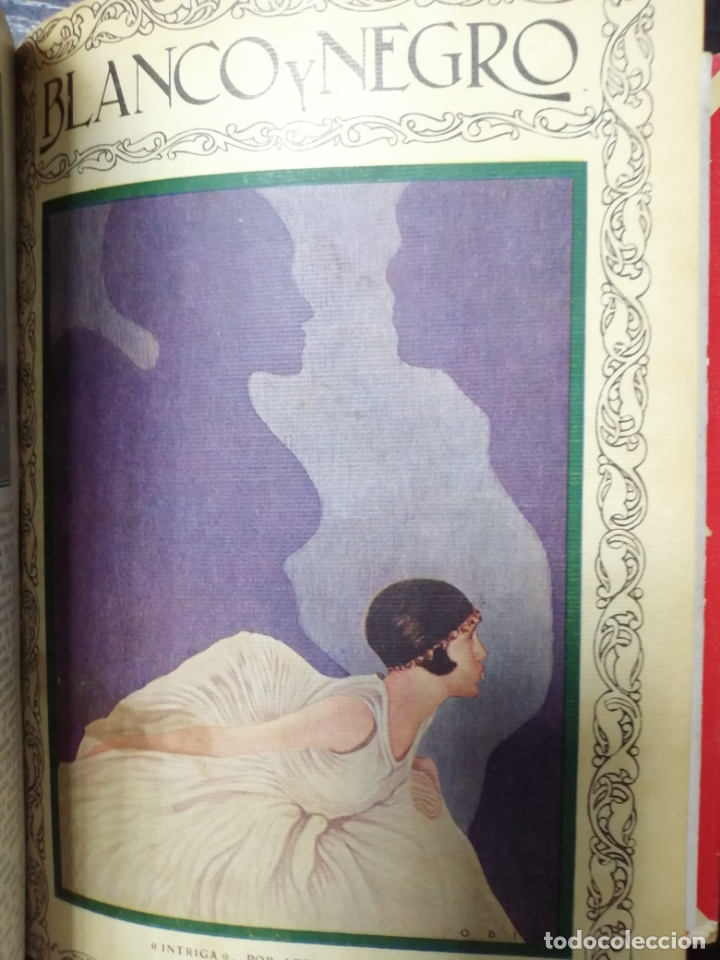 Coleccionismo de Revista Blanco y Negro: RECOPILACION DE REVISTAS BLANCO Y NEGRO EN UN SOLO TOMO, DESDE 6/05 1928 HASTA 24/06 1928. LEER - Foto 10 - 179392386