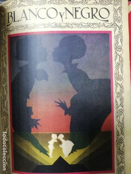 Coleccionismo de Revista Blanco y Negro: RECOPILACION DE REVISTAS BLANCO Y NEGRO EN UN SOLO TOMO, DESDE 6/05 1928 HASTA 24/06 1928. LEER - Foto 14 - 179392386