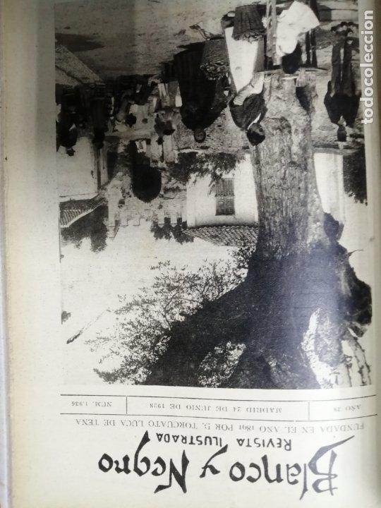 Coleccionismo de Revista Blanco y Negro: RECOPILACION DE REVISTAS BLANCO Y NEGRO EN UN SOLO TOMO, DESDE 6/05 1928 HASTA 24/06 1928. LEER - Foto 15 - 179392386