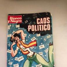 Coleccionismo de Revista Blanco y Negro: BLANCO Y NEGRO CAOS POLÍTICO. Lote 180036942