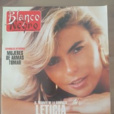 Coleccionismo de Revista Blanco y Negro: REVISTA BLANCO Y NEGRO SUSAN SARANDON/ROSENDO/PACO CLAVEL/JULIA ROBERTS/LETICIA SAB/ABC 18 SEPT.1994. Lote 180108788