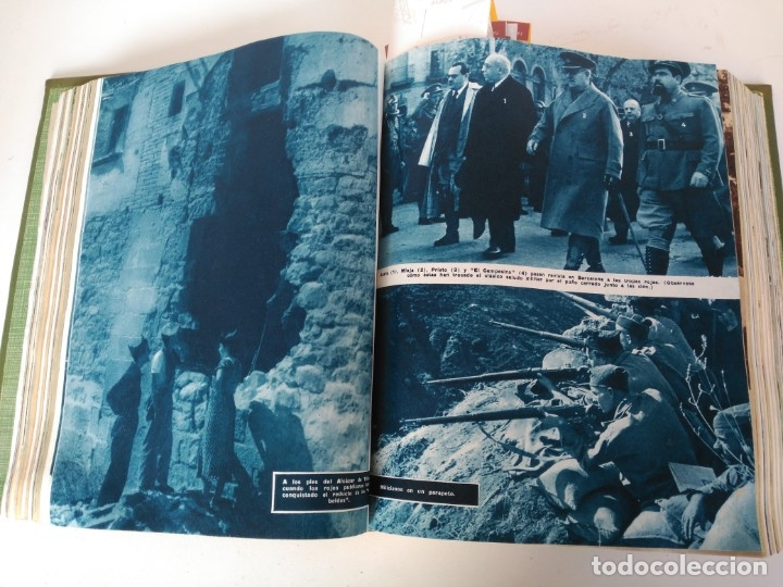 Coleccionismo de Revista Blanco y Negro: Revistas Blanco y Negro encuadernadas, 1957. Tren de orcasitas, Picasso, Azcoitia, Eibar (ver fotos) - Foto 6 - 180273903