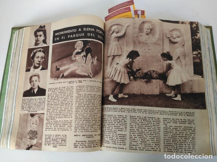 Coleccionismo de Revista Blanco y Negro: Revistas Blanco y Negro encuadernadas, 1957. Tren de orcasitas, Picasso, Azcoitia, Eibar (ver fotos) - Foto 7 - 180273903