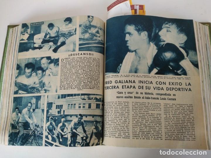 Coleccionismo de Revista Blanco y Negro: Revistas Blanco y Negro encuadernadas, 1957. Tren de orcasitas, Picasso, Azcoitia, Eibar (ver fotos) - Foto 8 - 180273903