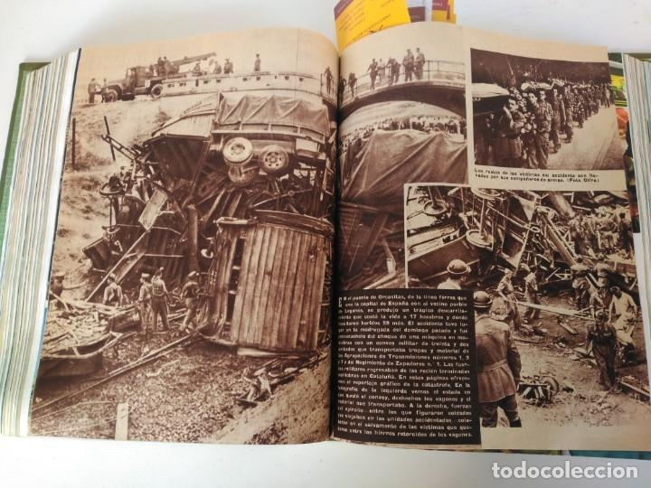 Coleccionismo de Revista Blanco y Negro: Revistas Blanco y Negro encuadernadas, 1957. Tren de orcasitas, Picasso, Azcoitia, Eibar (ver fotos) - Foto 10 - 180273903