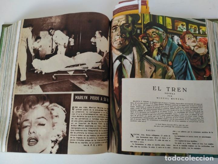 Coleccionismo de Revista Blanco y Negro: Revistas Blanco y Negro encuadernadas, 1957. Tren de orcasitas, Picasso, Azcoitia, Eibar (ver fotos) - Foto 11 - 180273903