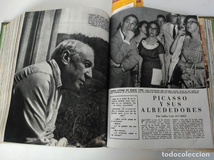 Coleccionismo de Revista Blanco y Negro: Revistas Blanco y Negro encuadernadas, 1957. Tren de orcasitas, Picasso, Azcoitia, Eibar (ver fotos) - Foto 15 - 180273903