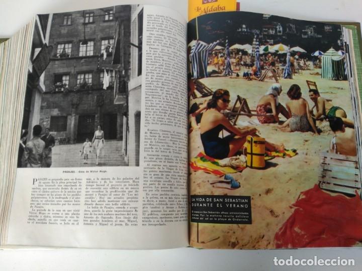 Coleccionismo de Revista Blanco y Negro: Revistas Blanco y Negro encuadernadas, 1957. Tren de orcasitas, Picasso, Azcoitia, Eibar (ver fotos) - Foto 18 - 180273903