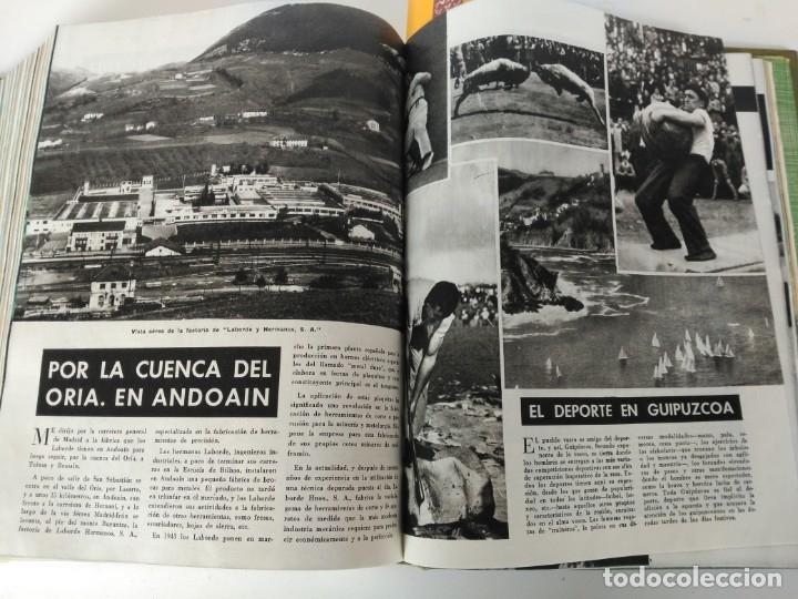 Coleccionismo de Revista Blanco y Negro: Revistas Blanco y Negro encuadernadas, 1957. Tren de orcasitas, Picasso, Azcoitia, Eibar (ver fotos) - Foto 19 - 180273903
