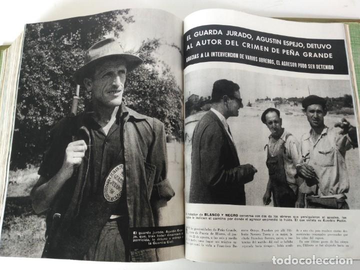 Coleccionismo de Revista Blanco y Negro: Revistas Blanco y Negro encuadernadas, 1957. Tren de orcasitas, Picasso, Azcoitia, Eibar (ver fotos) - Foto 21 - 180273903