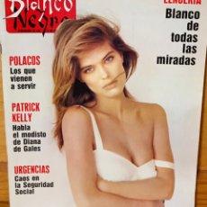 Coleccionismo de Revista Blanco y Negro: REVISTA BLANCO Y NEGRO ····BLANCO DE TODAS LAS MIRADAS ·····5 DE FEBRERO. Lote 180516811