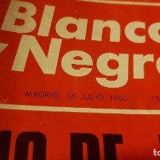Coleccionismo de Revista Blanco y Negro: REVISTA BLANCO Y NEGRO. JULIO 1966. Lote 180881490