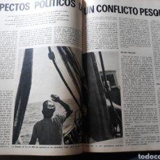 Coleccionismo de Revista Blanco y Negro: CONFLICTO PESQUERO ESPAÑA- MARRUECOS. ARTÍCULO DE RUBEN ÁVILA AÑO 1973 6 PÁGINAS. Lote 181469428