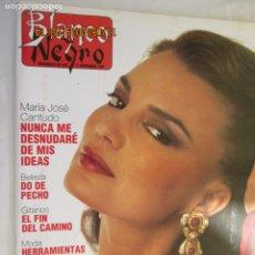 Colecionismo de Revistas Preto e Branco: BLANCO Y NEGRO SEMANARIO DE ABC 17-11-1991 , MARIA JOSE CANTUDO , NUNCA ME DESNUDARE . Lote 182535042