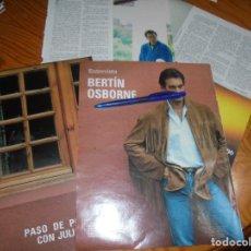 Coleccionismo de Revista Blanco y Negro: RECORTE : ENTREVISTA A BERTIN OSBORNE. POLEMICAS CON JULIO IGLESIAS. BLANC Y NEGR., NOVMBRE 1988(). Lote 182704241