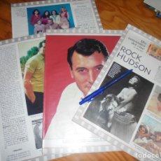 Coleccionismo de Revista Blanco y Negro: RECORTE : MIS INMORTALES DEL CINE : ROCK HUDSON. TERENCI MOIX . BLANC Y NEGR, DCMBRE 1988 (). Lote 182781352