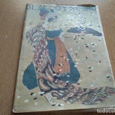 Coleccionismo de Revista Blanco y Negro: REVISTA - BLANCO Y NEGRO - PRECIO 30 CENTIMOS DE PESETA - AÑO 1917. Lote 183400872