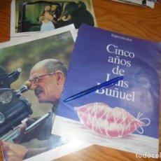 Coleccionismo de Revista Blanco y Negro: RECORTE : CINCO AÑOS DE LUIS BUÑUEL. BLANC Y NEGR, 31 JULIO 1988 (). Lote 183501685