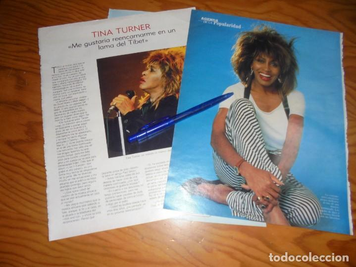 RECORTE : ENTREVISTA : TINA TURNER. BLANC Y NEGR, 24 JULIO 1988 () (Coleccionismo - Revistas y Periódicos Modernos (a partir de 1.940) - Blanco y Negro)
