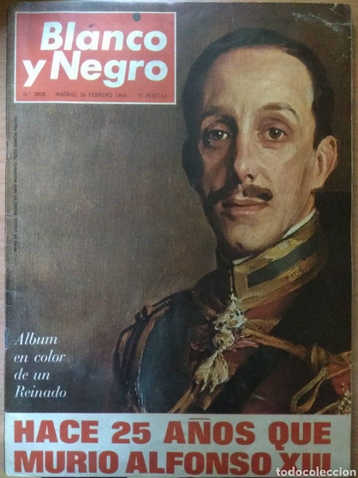 ANTIGUA REVISTA BLANCO Y NEGRO 1966 (Coleccionismo - Revistas y Periódicos Modernos (a partir de 1.940) - Blanco y Negro)