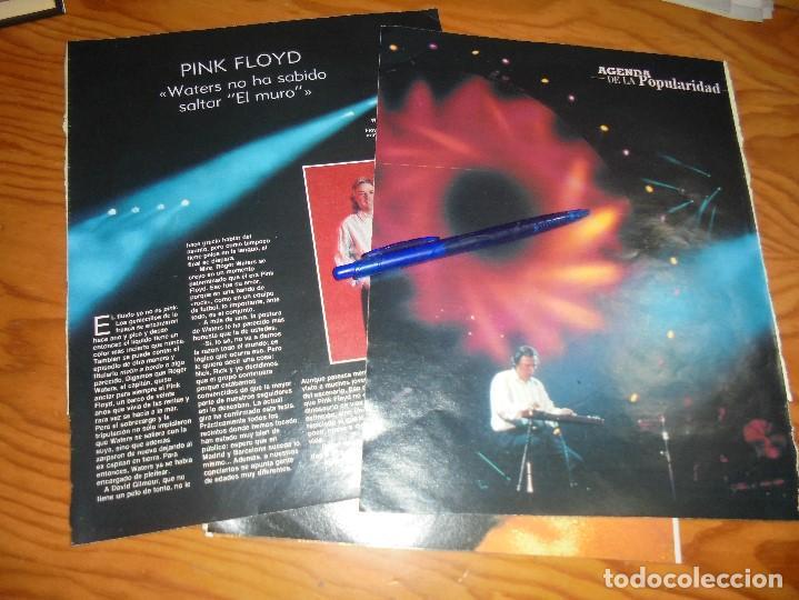 RECORTE : PINK FLOYD VUELVE A LA CARGA. BLANC Y NEGR, 17 JULIO 1988 () (Coleccionismo - Revistas y Periódicos Modernos (a partir de 1.940) - Blanco y Negro)