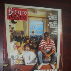 Coleccionismo de Revista Blanco y Negro: REVISTA BLANCO NEGRO 1993 Nº 3862- JESUS VAZQUEZ- ALEX CREVILLE- ELSA ANKA -INES SASTRE. Lote 184142022
