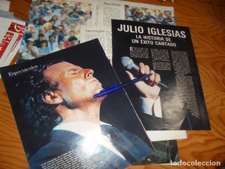 RECORTE : JULIO IGLESIAS, LA HISTORIA DE UN EXITO CANTADO. BLANC Y NEGR, 12 JUNIO 1988 () (Coleccionismo - Revistas y Periódicos Modernos (a partir de 1.940) - Blanco y Negro)