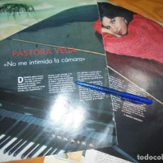 Coleccionismo de Revista Blanco y Negro: RECORTE : ENTREVISTA : PASTORA VEGA. BLANC Y NEGR, 12 JUNIO 1988 (). Lote 184209077