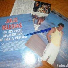 Coleccionismo de Revista Blanco y Negro: RECORTE : JULIO IGLESIAS . LA TUNA. BLANC NEGR. 4 SEPTMBRE 1988 (). Lote 184209647