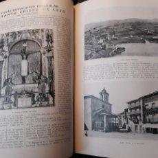 Coleccionismo de Revista Blanco y Negro: EL SANTO CRISTO DE LEZO - TRES PAGINAS AÑO 1922. Lote 184911741