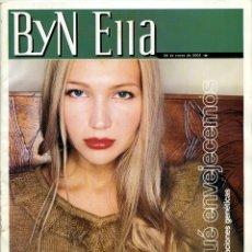 Coleccionismo de Revista Blanco y Negro: BLANCO Y NEGRO ELLA. 20 ENERO 2001. 66 PÁGINAS. ANTONIO CANALES. Lote 185683100