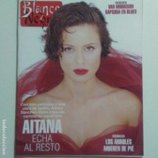 Collectionnisme de Magazine Blanco y Negro: BLANCO Y NEGRO.NUM. 3973 20-8-1995. AITANA VAN MORRISON. VER SUMARIO. Lote 186231541