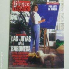 Coleccionismo de Revista Blanco y Negro: BLANCO Y NEGRO. NUM. 3979 1-10-1995. CLAUDIA SHIFFER, DAVID COPPERFIELD TITA CERVER. VER SUMARIO. Lote 186336236