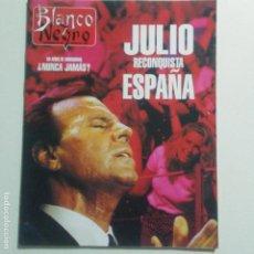 Coleccionismo de Revista Blanco y Negro: BLANCO Y NEGRO. NUM. 3971 6-8-1995. JULIO IGLESIAS. BRUCE WILLIS VER SUMARIO. Lote 187245318