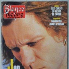 Coleccionismo de Revista Blanco y Negro: REVISTA BLANCO Y NEGRO. Nº 4014. SEMANARIO DE ABC. 2 JULIO 1996. JON BON JOVI. Lote 188734676