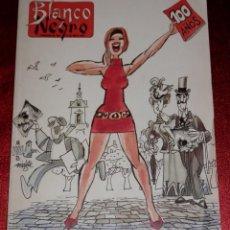 Coleccionismo de Revista Blanco y Negro: REVISTA BLANCO Y NEGRO - 100 AÑOS. Lote 189437016