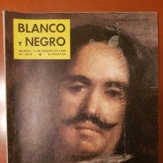 Coleccionismo de Revista Blanco y Negro: BLANCO Y NEGRO REVISTA Nº 2519 MADRID, 13 DE AGOSTO 1960_LA OBRA COMPLETA DE VELAZQUEZ, TINTIN.. Lote 189587141