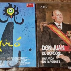Coleccionismo de Revista Blanco y Negro: LOTE 2 SUPLEMENTOS BLANCO Y NEGRO - MIRÓ - DON JUAN DE BORBÓN - ABC. Lote 190010826