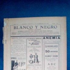 Coleccionismo de Revista Blanco y Negro: REVISTA BLANCO Y NEGRO DE 1926. Lote 190821623