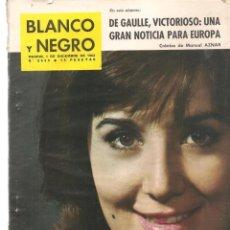 Coleccionismo de Revista Blanco y Negro: REVISTA: BLANCO Y NEGRO. Nº 2639. EN PORTADA: CONCHITA VELASCO. 1 DICIEMBRE 1962.(P/DS3)). Lote 190979445