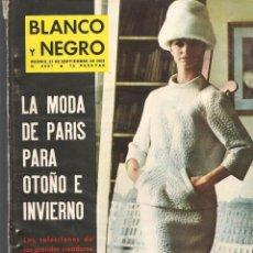 Coleccionismo de Revista Blanco y Negro: REVISTA: BLANCO Y NEGRO. Nº 2681. LA MODA DE PARIS PARA OTOÑO E INVIERNO/ . 21/SPB,1963.(P/DS3)). Lote 190981706
